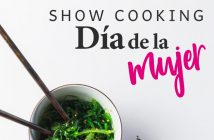 Día de la Mujer Showcooking Almería 2019