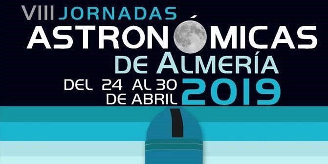 Jornadas Astronómicas de Almería 2019