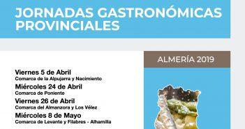 Jornadas Gastronómicas Provinciales Almería 2019