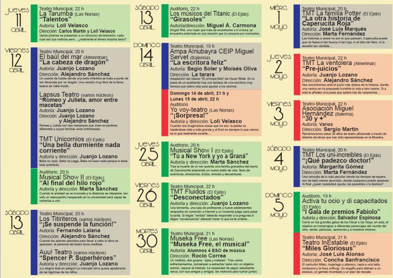 30 Muestra de Teatro Aficionado de El Ejido