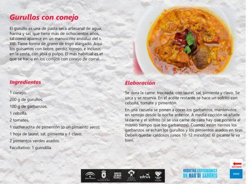 Recetario tradicional de Roquetas