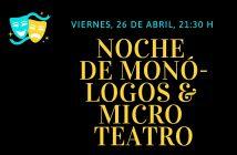 Noche de Monólogos y Microteatro en Vera