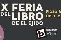 X Feria del Libro de El Ejido