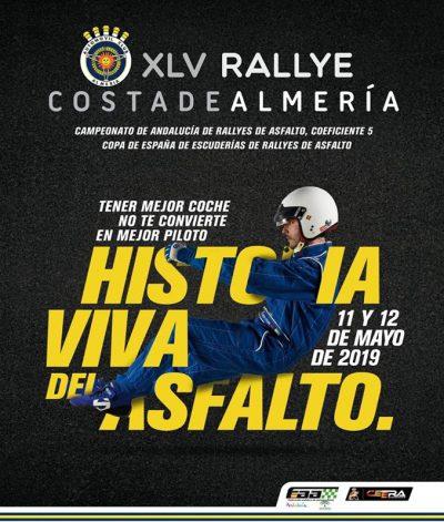 XLV RALLYE COSTA DE ALMERÍA