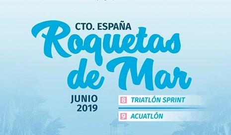 Campeonato de España de Triatlón Sprint y Acuatlón en Roquetas De Mar