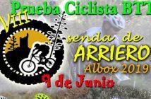 VIII Prueba Ciclista Btt Senda de Arrieros Albox 2019