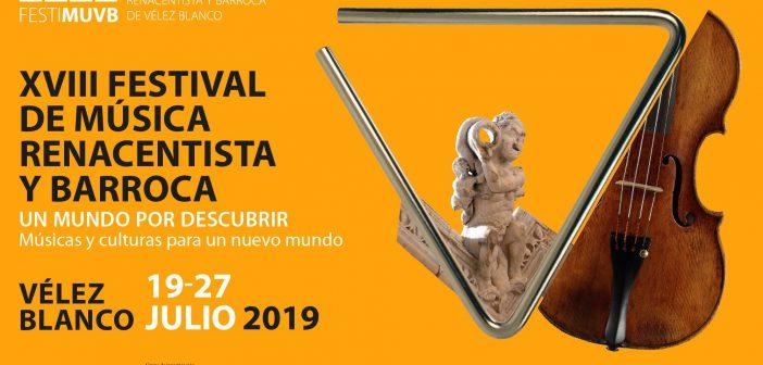 XVIII Festival de Música Renacentista y Barroca de Vélez Blanco