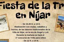 IV Fiesta de la Trilla en Níjar
