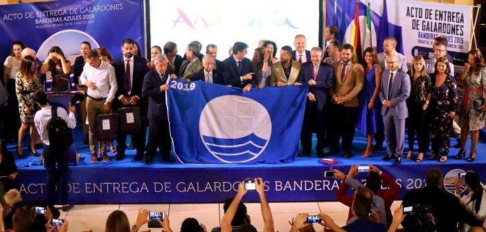 Playas de Bandera Azul en Almería