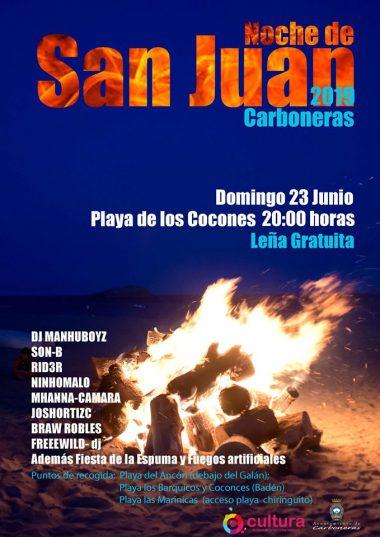 Noche de SAN JUAN 2019 en Almería