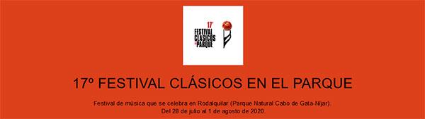 17º Festival Clásicos en el Parque - Rodalquiar