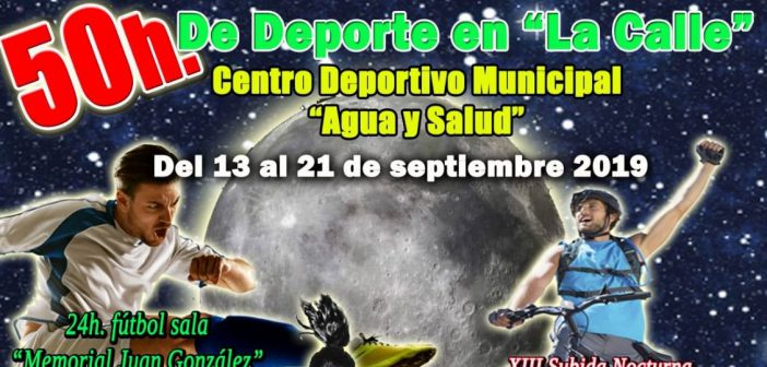 """""""50 horas de deporte en las calles"""" Albox"""