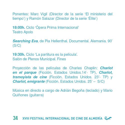 Festival Internacional de Cine de Almería FICAL 2019