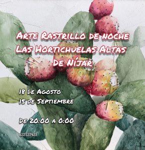 Arte Rastrillo en Las Hortichuelas