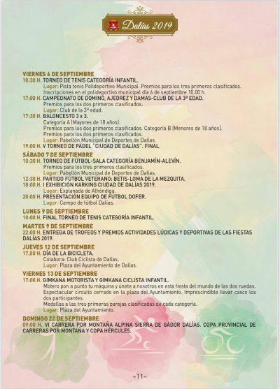 Fiestas del Stmo. Cristo de la Luz de Dalías 2019