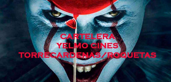 CARTELERA YELMO CINES Torrecárdenas - Roquetas