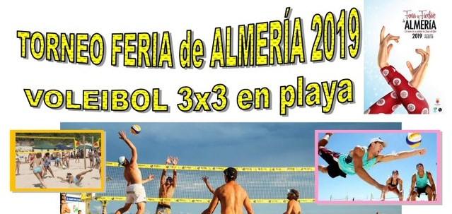 Torneo Voley playa de Feria Almería 2019