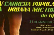 IX Carrera Urbana Nocturna en Tíjola