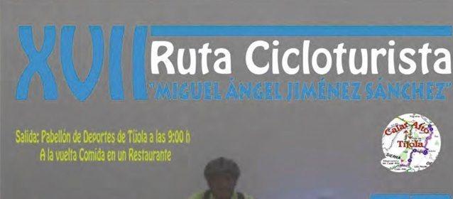 XVII RUTA CICLOTURISTA Miguel Ángel Jiménez Sánchez