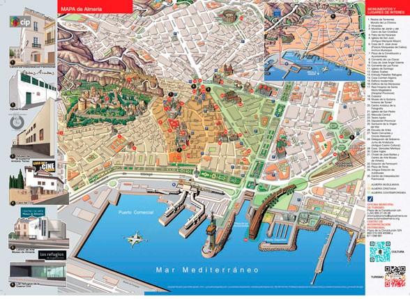 Mapa de Museos en Almería