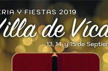 Fiestas Patronales de Vícar 2019