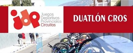 II CIRCUITO PROVINCIAL DE DUATLÓN CROS. CUEVAS DEL ALMANZORA