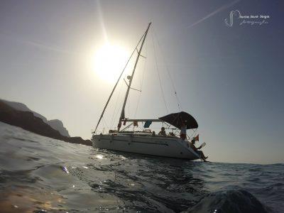Paseo en Barco- Velero por la costa de Almería