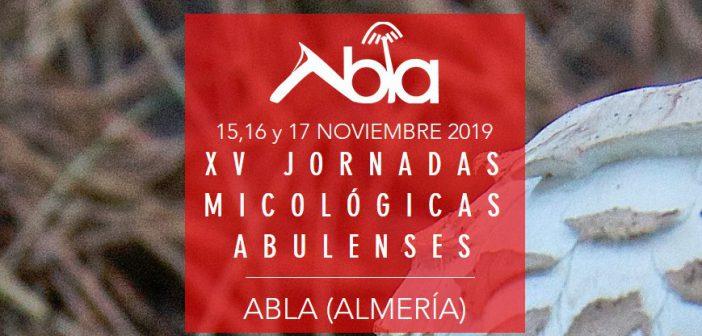 XV JORNADASMICOLÓGICAS ABULENSES