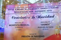 "Concierto ""BANDA SINFÓNICA DE LA E. M. M."""