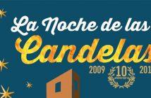 La Noche de las Candelas en Almería 2019