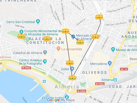 Cabalgata Reyes Magos en Almería - Navidad 2020