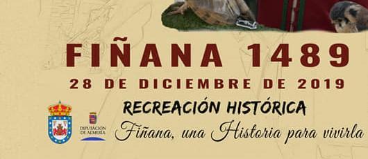 V Jornada Histórica Ysabel y Fernando en Fiñana