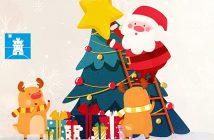 Navidad de compras por Roquetas de Mar