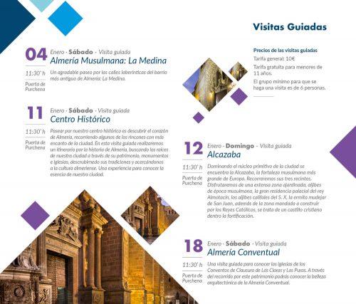 Visitas guiadas - Tu invierno en Almería Ciudad