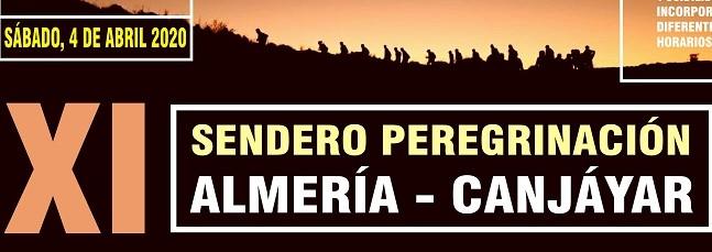 XI Sendero-Peregrinación Canjáyar-Almería