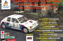 Campeonato de España de Coches Clásicos de RallySlot 1/32