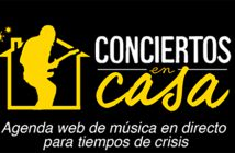 Agenda de conciertos en streaming