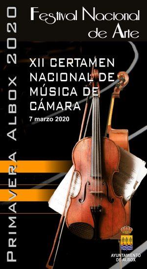 "Festival Nacional e Internacional de Arte ""Albox-Primavera 2020"""