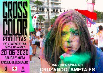IX Carrera Nocturna Solidaria Cross Color Roquetas de Mar