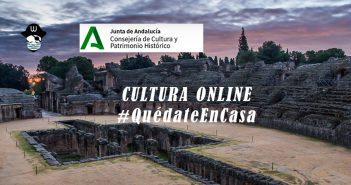 """Junta de Andalucía """"Cultura online"""""""