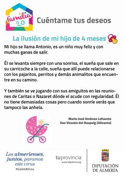 libro infantil La ilusión de mi hijo de 4 meses