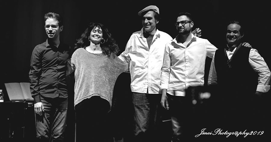 mienbros del grupo musical Óbba Music Project