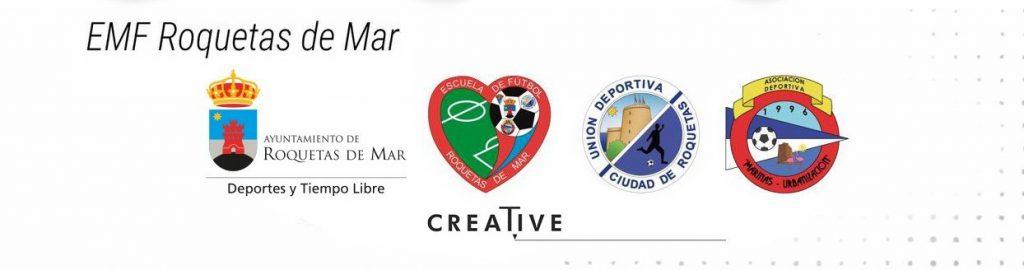 Cartel jornadas Hablemos de fútbol Escuela Municipal de Fútbol de Roquetas