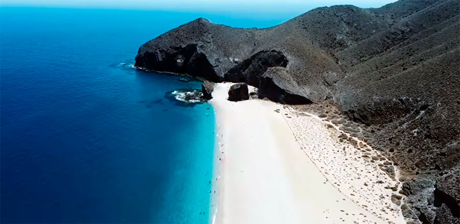 Playas de Almería - De Levante a Poniente - Cabo de Gata - WEEKY