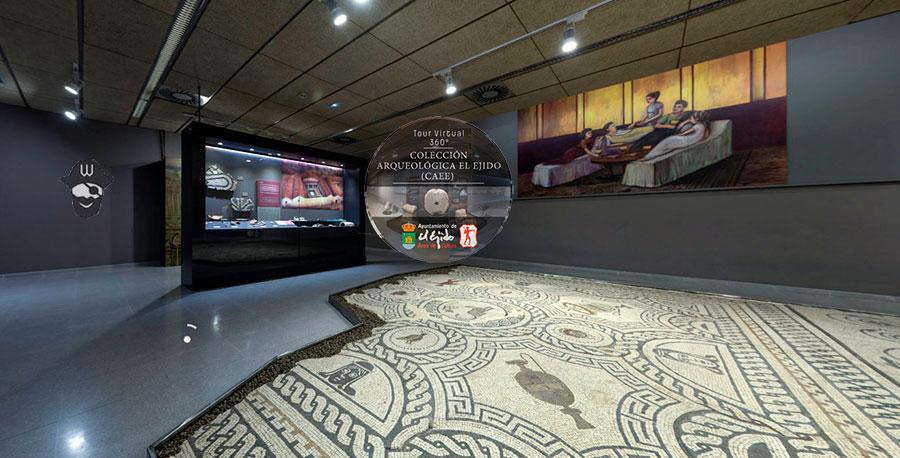 Tour Virtual de la Colección Arqueológica de El Ejido (CAEE)
