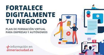 """2ª edición Cursos gratuitos """"Digitaliza tu negocio""""- Ayuntamiento de Almería"""