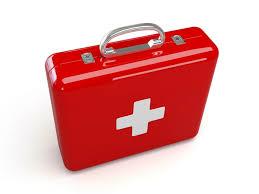 maletin rojo botiquin