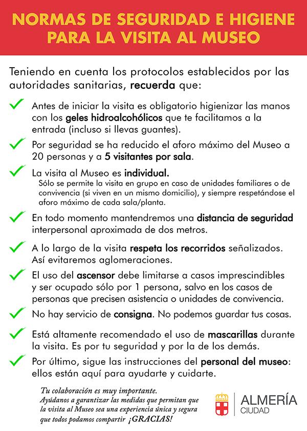 normas museos almeria covid-19