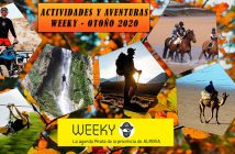 ACTIVIDADES Y AVENTURAS WEEKY OTOÑO 2020