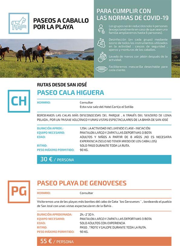 Vacaciones a caballo por Cabo de Gata